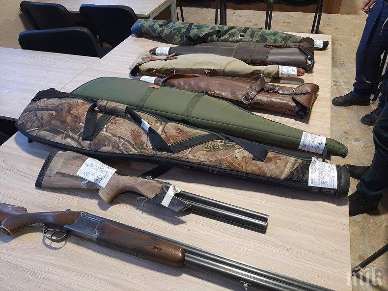 Спецакция във Вършец! Намериха незаконни оръжия, боеприпаси и културно-исторически ценности