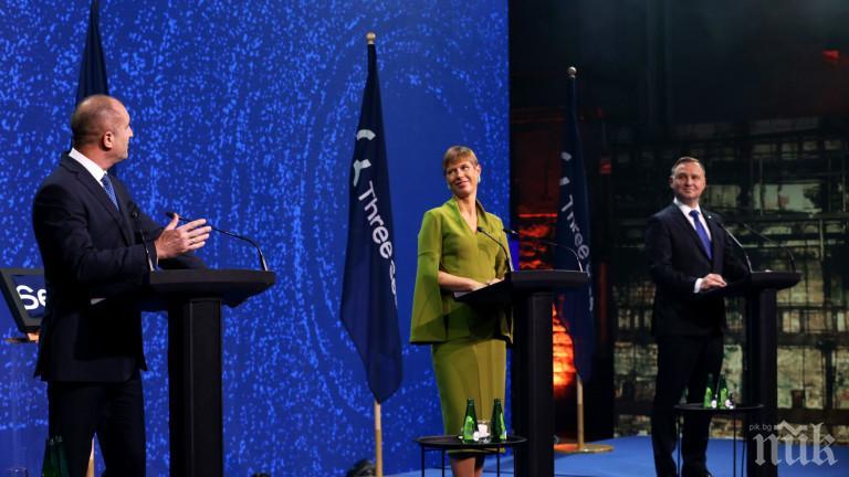 Би Би Си гърми: Полският президент заразен с коронавирус след среща с Румен Радев, който бе поставен под карантина в Естония (СНИМКА)