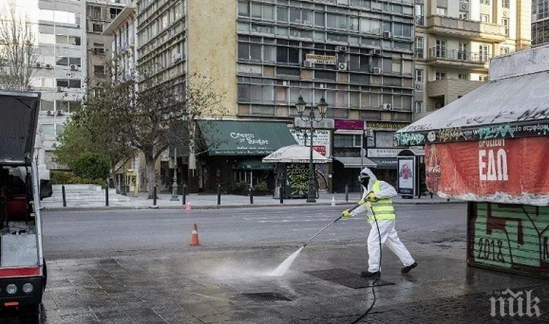 Жестоки мерки в Гърция за спазване на ограниченията заради коронавируса