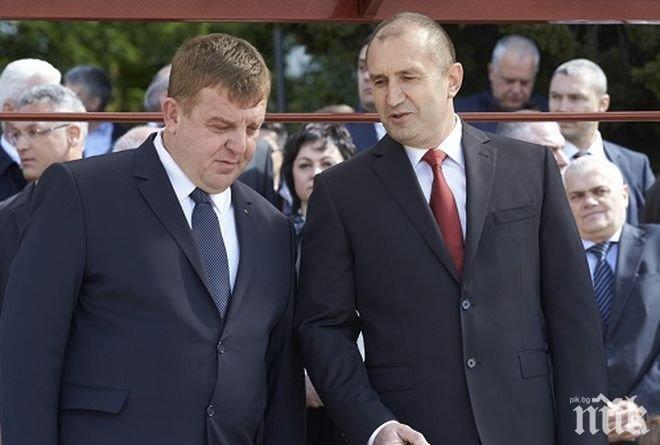 ПЪРВО В ПИК! Министерство на отбраната: Радев е бил уведомен още в неделя, че командирът на ВВС е с коронавирус