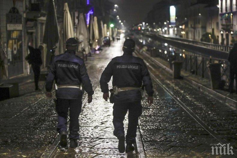 Безредици в Неапол заради ограничителните мерки срещу вируса