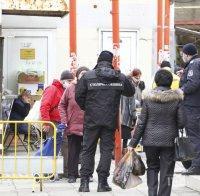 Затягат контрола по пазарите - в София монтираха и КПП-та