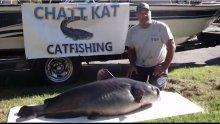 Рибар от Флорида хвана 50-килограмов сом