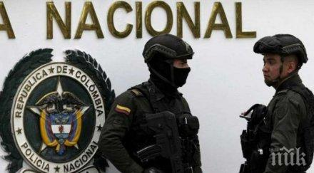 бандити обраха души ресторант колумбия