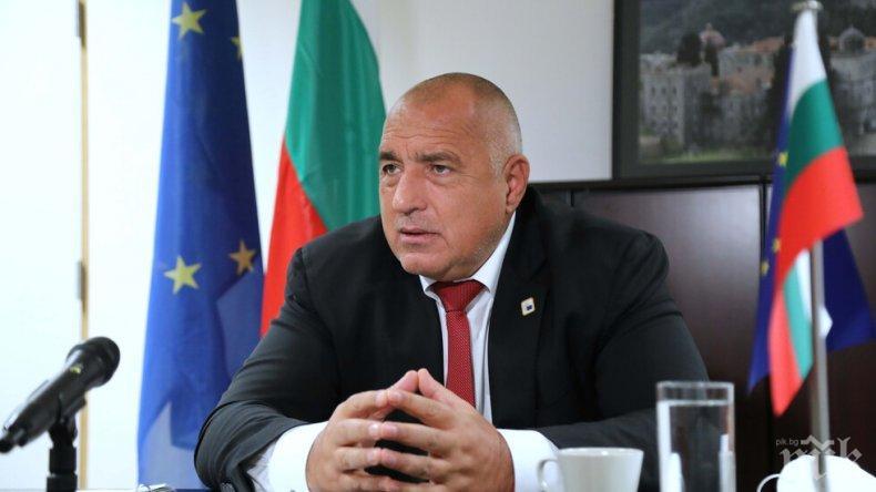Бойко Борисов поздрави Ана Бърнабич за преизбирането й за министър-председател на Република Сърбия