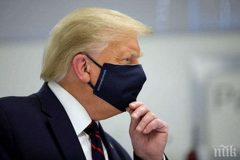 Доналд Тръмп: Растящите случаи на коронавирус се получават от по-големия брой тестове, медиите сеят паника