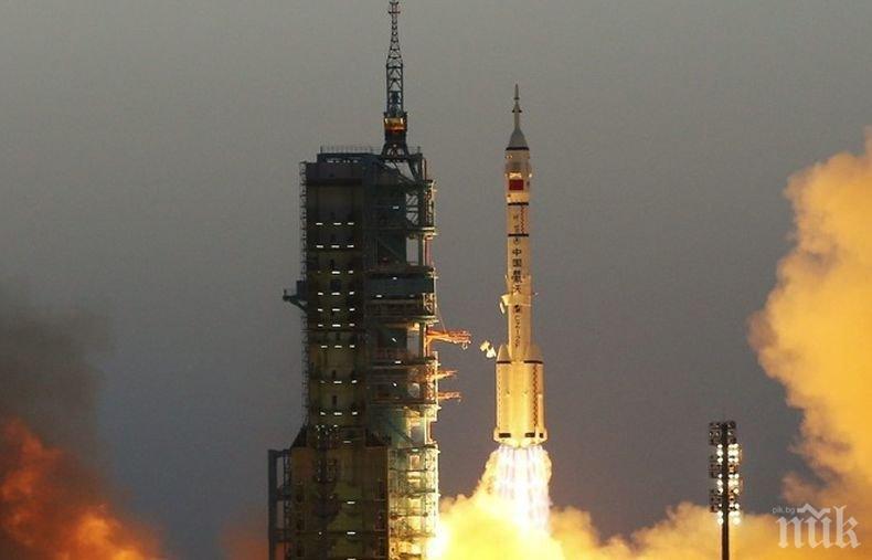 Китай изведе успешно в орбита група от спътници