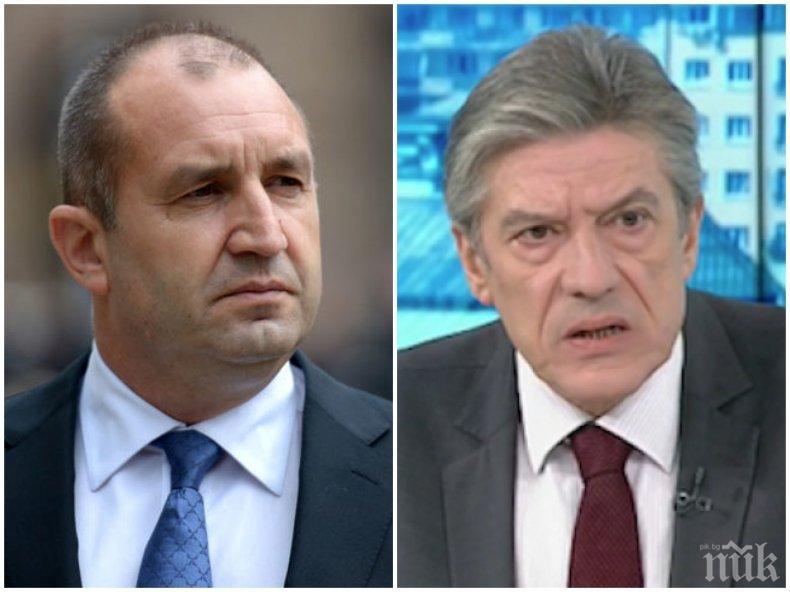 Доц. Антоний Гълъбов: Радев от една година не е интересен за никого, отношенията между президента и БСП никога не са били партньорски, а на взаимно използване