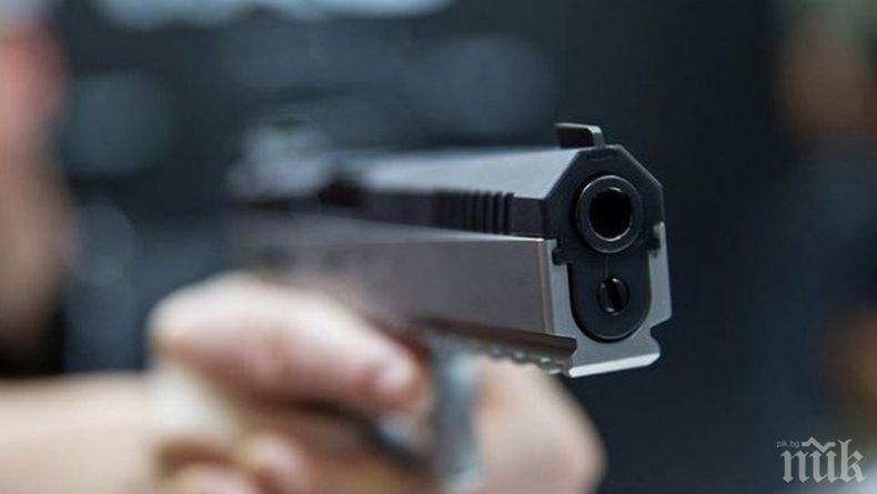 Скандал в Бургас завърши със стрелба