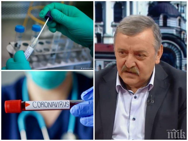 Проф. Кантарджиев с разкрития за високата смъртност у нас и как да се предпазим от коронавируса
