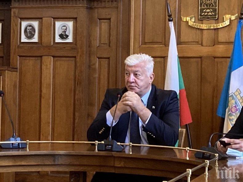 Карантинираха двама от заместниците на кмета Здравко Димитров в Пловдив