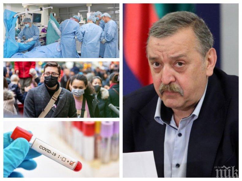 Проф. Тодор Кантарджиев разкри пред ПИК ще достигнем ли 5000 заразени на ден, как COVID-19 уврежда мозъка и къде у нас е открит оригинал на вируса