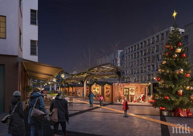 """София ще има красив Коледен базар на площад """"Славейков"""" (СНИМКИ)"""