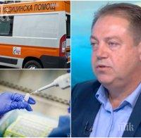 Д-р Иван Маджаров скочи на болниците: Нямат право да отказват лечение на пациент! Настояваме за въвеждането на бързите антигенни тестове