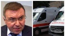 ИЗВЪНРЕДНО В ПИК TV! Здравният министър Костадин Ангелов с горещи новини за линейките и колите за коронавирусни пациенти (ВИДЕО/ОБНОВЕНА)