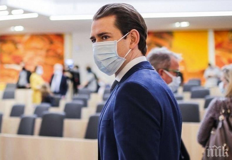 Курц предлага Австрия за домакин на срещата Путин-Байдън