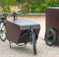 Във Варна пуснаха товарни електрически велосипеди да дребния бизнес