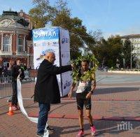 Красен Кралев награди победителите в маратон