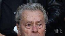 Ален Делон навърши 85 години