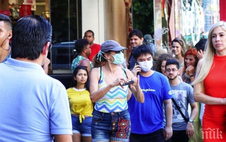 48 331 нови случая на COVID-19 само за ден в Бразилия