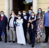 Заради коронавируса! Сватбите в Словения само при бременност