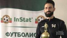 Футболист №1 на България: Самочувствието е нула