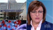 Депутат от ГЕРБ за акцията на БСП в болниците: Почнаха да носят маски, едва след като Нинова се разболя - дано имат желание за помощ, а не за реклама