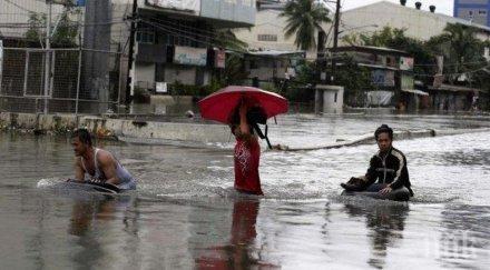 тайфуна вамко спасителни служби филипините борят спасят хиляди
