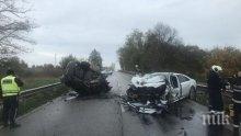 Съпрузи са ранени след катастрофа на пътя Пазарджик - Пловдив