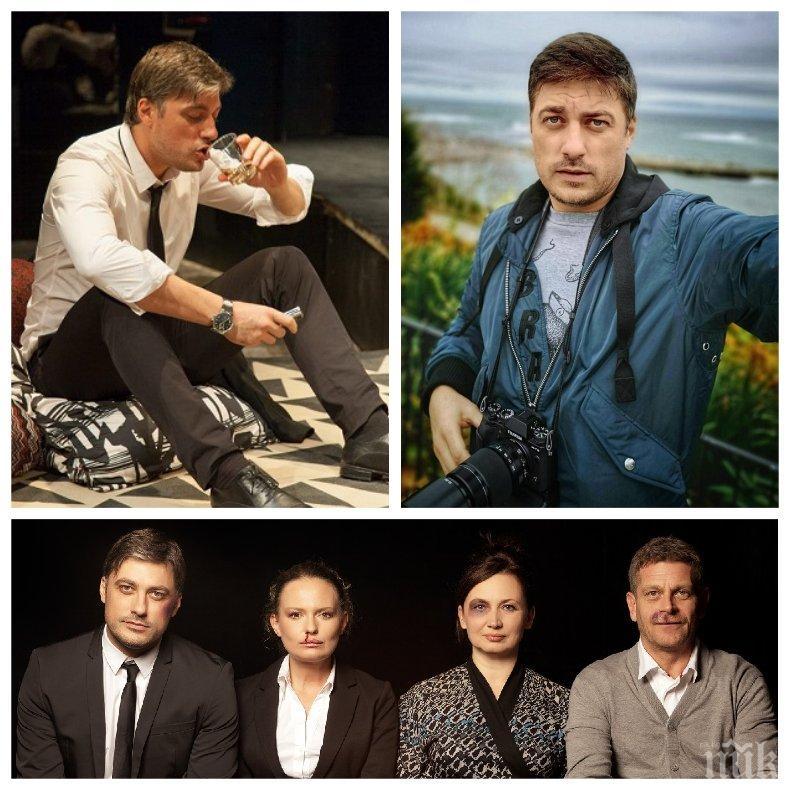 Владо Карамазов пред ПИК за слуховете, че разнася COVID-19 в Народния театър: Пълни глупости!