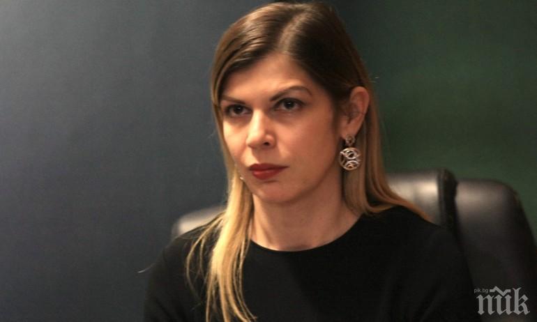 Административният ръководител на Софийска районна прокуратура Невена Зартова и Иво