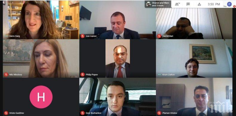 Херо Мустафа към парламентарната група за приятелство България–САЩ: Благодарим ви, че заедно с нас отстоявате демокрацията