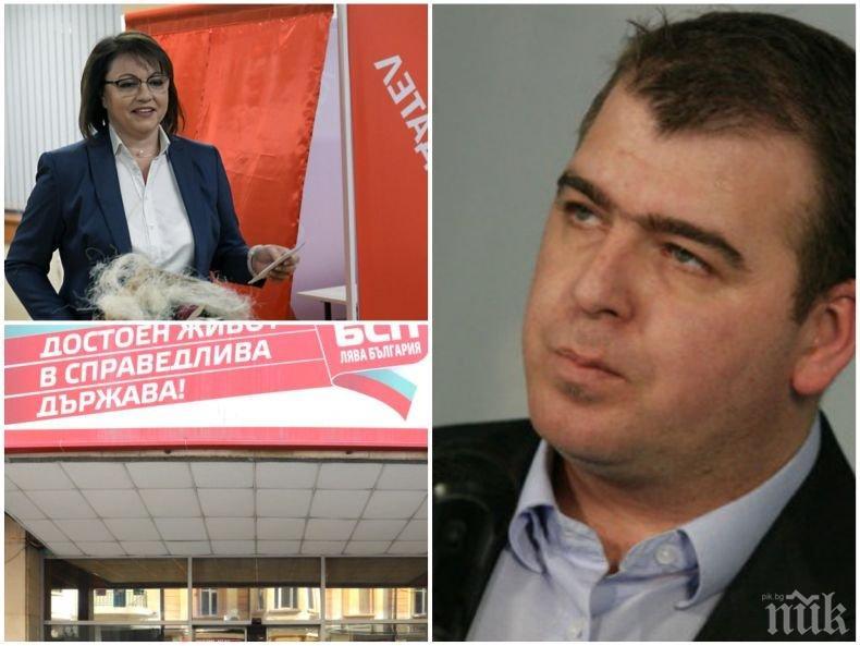 САМО В ПИК! Явор Гечев: БСП никога няма да стане лидерска партия, дори и Нинова да иска. Трябва да започне да си говори с хората