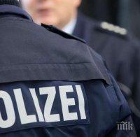 кървав екшън престрелка германия нападателят убит ранен снимки