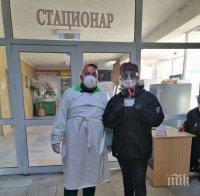Доброволци от ГЕРБ помагат на пациентите в МБАЛ-Смолян