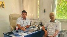 Шефът на пловдивската COVID-болница: Проф. Чирков беше в добро здраве, прегледа 30 души