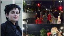 Калина Андролова скочи на протестърите: Ако не въвеждат локдаун – протестират, ако въвеждат – пак протестират