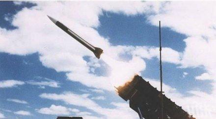 напрежение ивицата газа израел отвърна изстреляна ракета бойни самолети