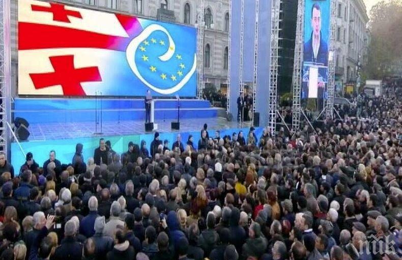 Управляващата партия в Грузия спечели във всички едномандатни райони