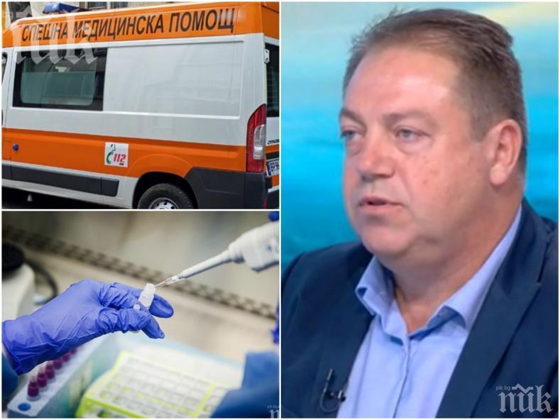 ЧЕРВЕНА ТОЧКА: Председателят на БЛС д-р Маджаров избухна остро: Който иска да протестира, но лекарите няма да стават жертвени агнета