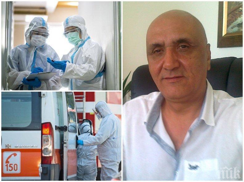Д-р Костадин Шахов: Стрелба по лекарите във време на война - това е невиждан цинизъм!