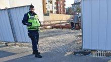 След трудовата злополука на строеж в София: Най-леко пострадалият работник е с откъснат крак