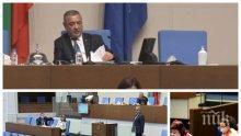 СУПЕР ТАКТИКА: Валери Симеонов буди дремещите в парламента за бюджета с цветисти забележки (ОБНОВЕНА)