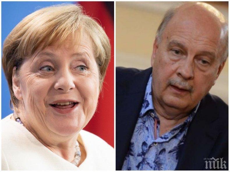 Георги Марков за политическия елит в Германия: Десницата става либерална - с една дума Меркел си отива, Меркел остава