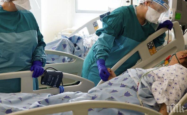 Над 18 000 новозаразени и рекордни 696 починали с коронавирус за денонощие във Великобритания