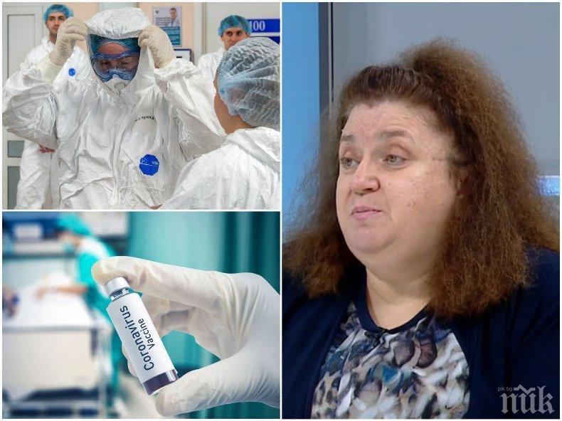 Вирусологът проф. Радостина Александрова: Новите мерки ще имат ефект. Близо сме до пика на втората вълна