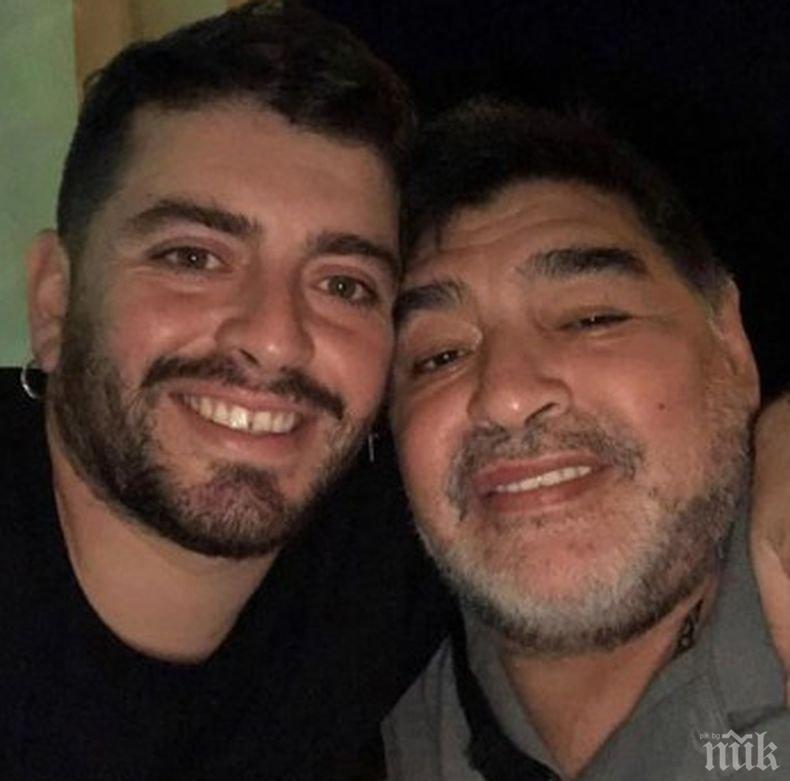 Синът на Диего Марадона е в реанимация, бори се с коронавируса