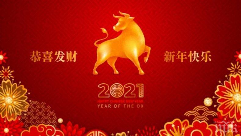 Китайската година на Белия метален вол ни носи пари и работа