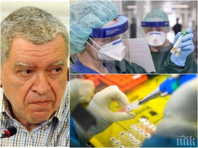 Проф. Михаил Константинов пред ПИК: 1/3 от българите вече са минали през вируса, в средата по смъртност сме в Европа, първите ваксини ще бъдат поставени в края на годината
