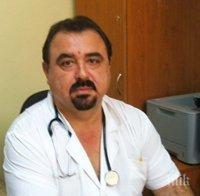 Още един блестящ лекар почина с коронавирус - отиде си д-р Николай Колев от Русе